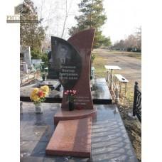 Памятник комбинированный 01 — ritualum.ru